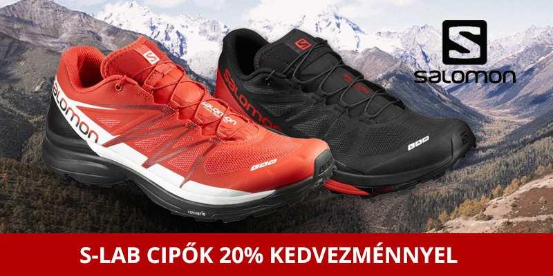 Salomon S-Lab terepfutó cipők 20% kedvezménnyel