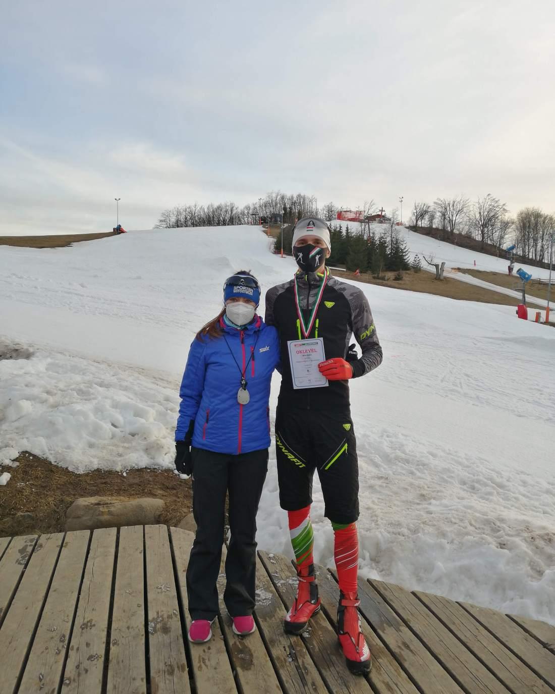 Büki Ádám harmadik lett a sífutó országos bajnokságon