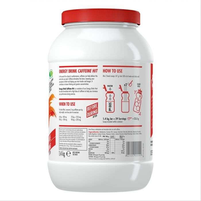 High5 2:1 Energy Drink Caffeine HIT Citrom 1,4kg (~30 Adag) (koffeines)
