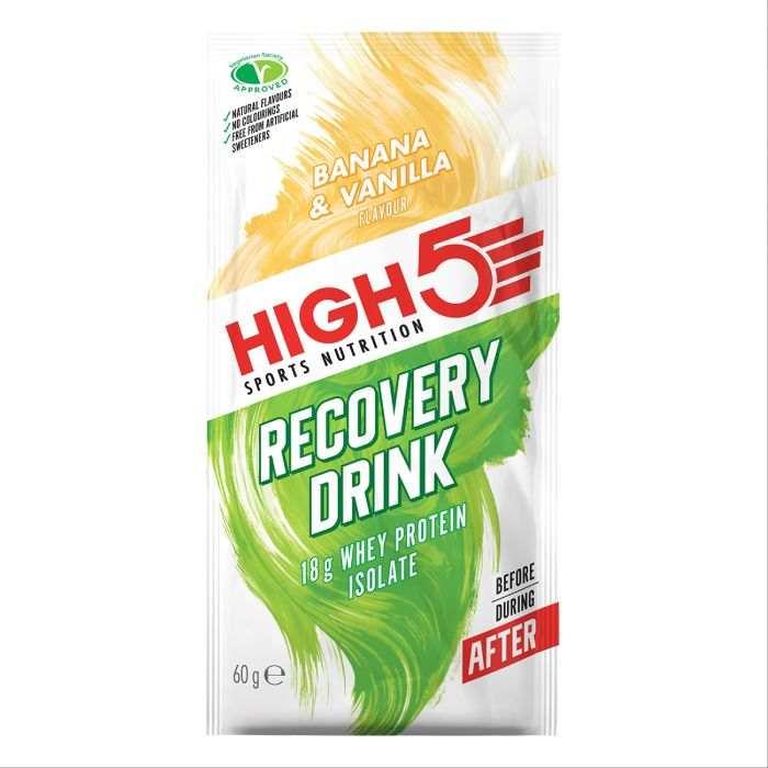 High5 Recovery Drink Banán/Vanilia (9×60g)
