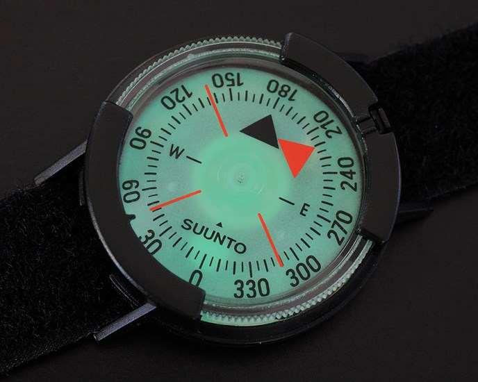 Suunto M-9 Black rögzíthető iránytű
